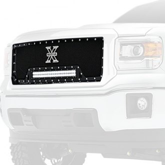 T-Rex® - 1-Pc Torch Series Black Formed Mesh Grille