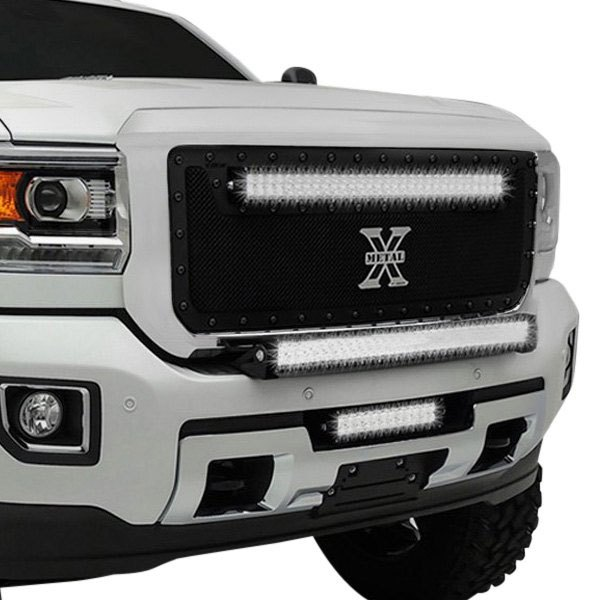 T-Rex® - 1-Pc Stealth Torch Series Black Powder Coated Formed Mesh Main Grille