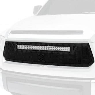 "T-Rex® - 1-Pc Stealth Torch Series Black Formed Mesh Grille with 1 x 30"" LED Light Bar"
