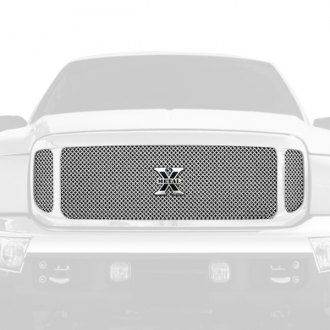 T-Rex® - X-Metal Series 3-Pc Look Polished Formed Mesh Main Grille
