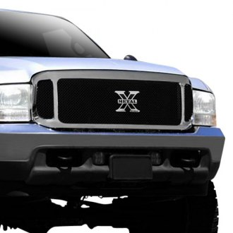 T-Rex® - X-Metal Series 3-Pc Look Black Mesh Grille