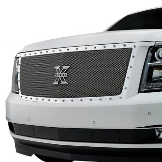T-Rex® - 1-Pc X-Metal Series Polished Formed Mesh Grille