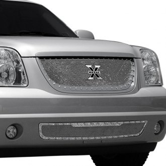 T-Rex® - 1-Pc X-Metal Series Polished Mesh Grille