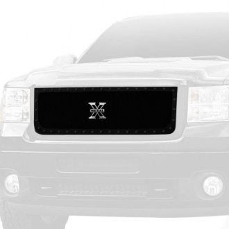 T-Rex® - 1-Pc Stealth Metal Series Black Formed Mesh Grille
