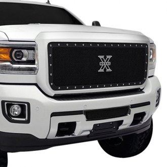 T-Rex® - 1-Pc X-Metal Series Black Formed Mesh Grille