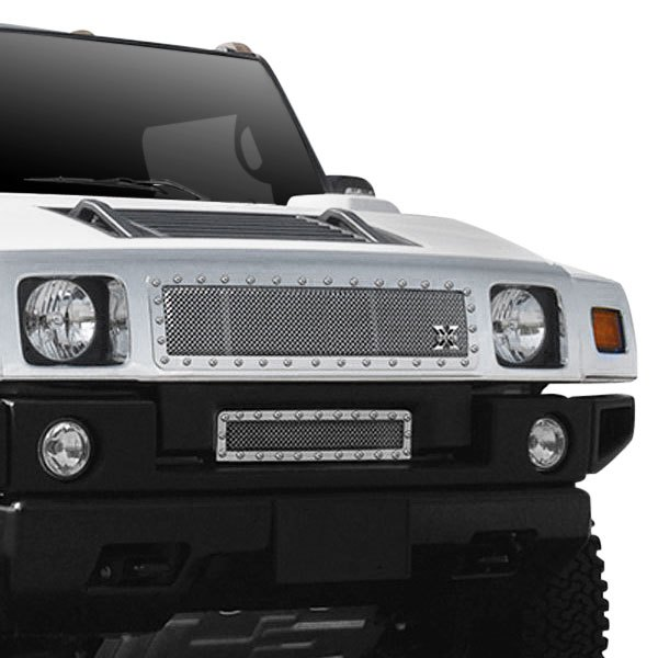 2007 Hummer H2 Exterior: Hummer H2 2005 1-Pc X-Metal Series Polished Mesh