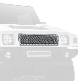 T-Rex® - 1-Pc X-Metal Series Polished Mesh Main Grille