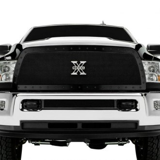 T-Rex® - 1-Pc Stealth Metal Series Full Opening Style Black Mesh Grille