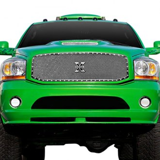 T-Rex® - 1-Pc X-Metal Series Full Opening Style Polished Mesh Grille