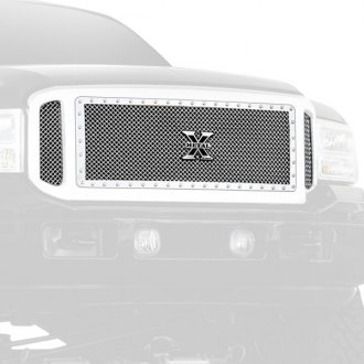 T-Rex® - 3-Pc X-Metal Series Polished Mesh Main Grille