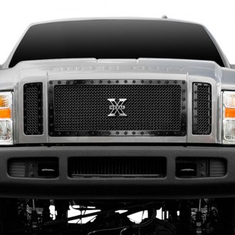 T-Rex® - 3-Pc Stealth Metal Series Black Mesh Grille