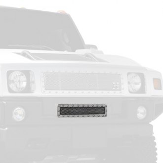 T-Rex® - X-Metal Series Polished Mesh Bumper Grille