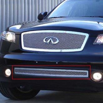 T-Rex® - Hybrid Series Polished Wire Mesh Bumper Grille