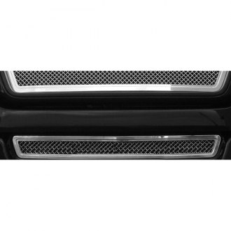 T-Rex® - Hybrid Series Chrome Wire Mesh Bumper Grille