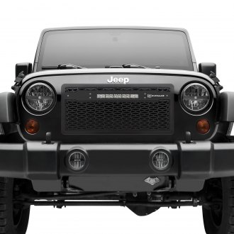 T-Rex® - ZROADZ Series LED Black CNC Machined Grille