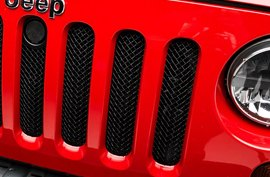 T-Rex® - Sport Series Formed Grille on Jeep Wrangler