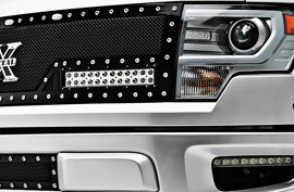 T-Rex® - X-Metal Torch Series Mesh Grille on Ford F-150 Raptor