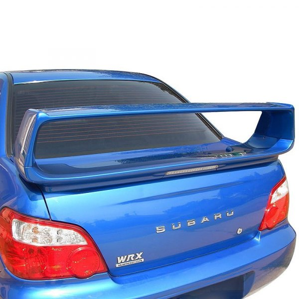 t5i subaru wrx sti 2007 factory style rear spoiler with light t5i factory style rear spoiler with light