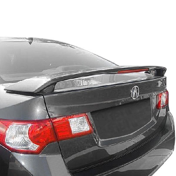 Acura TSX 2009 Factory Style Rear Spoiler With Light