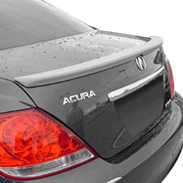 Acura RL 2006 Factory Style Fiberglass Rear Lip Spoiler