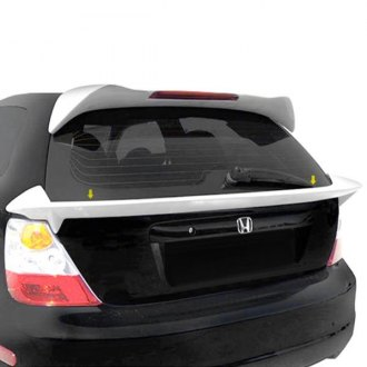 T5i® - Custom Style Fiberglass Flush Mount Rear Spoiler