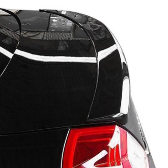 T5i® - Custom Style Fiberglass Rear Lip Spoiler (Painted)