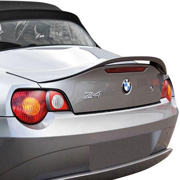 Bmw Z4 New Shape: BMW Z4 2003 Factory Style Fiberglass Rear Spoiler
