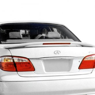 T5i® - Custom Style Fiberglass Rear Spoiler with Light (Painted)
