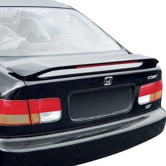 1999 Honda Civic Si Spoilers Custom Factory Lip Wing Spoilers