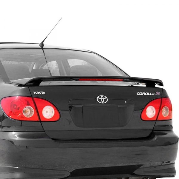 t5i toyota corolla 2003 2008 factory style rear spoiler. Black Bedroom Furniture Sets. Home Design Ideas