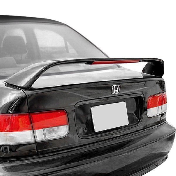 t5i honda civic si 1996 2000 factory style rear spoiler. Black Bedroom Furniture Sets. Home Design Ideas