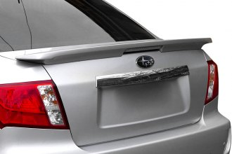 T5i® WT-ABS196A-L4 - Factory Style Flush Mount Rear Spoiler with Light (Painted)