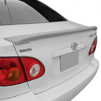 2007 toyota corolla spoilers custom factory lip wing. Black Bedroom Furniture Sets. Home Design Ideas