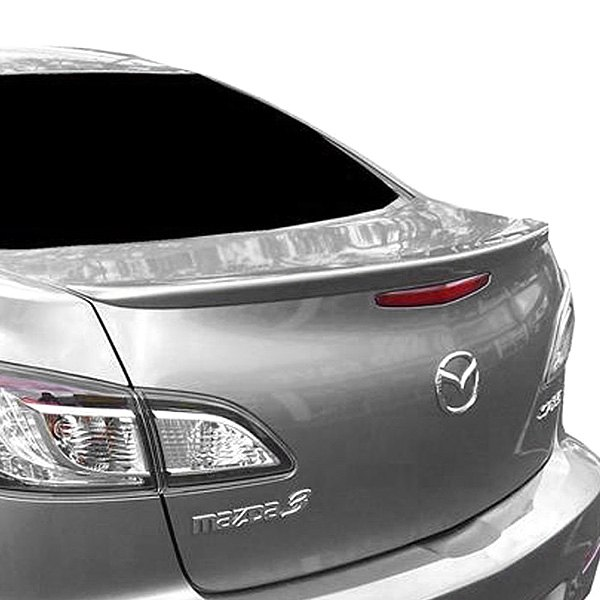 t5i mazda 3 sedan 2010 2013 factory style rear lip spoiler. Black Bedroom Furniture Sets. Home Design Ideas