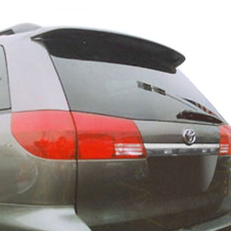 T5i® - Factory Style Fiberglass Rear Roofline Spoiler with Light