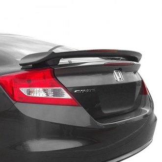 T5i® - Custom Style Fiberglass Rear Spoiler with Light