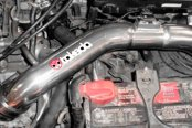 Takeda® - Attack Polished Cold Air Intake System, Installed