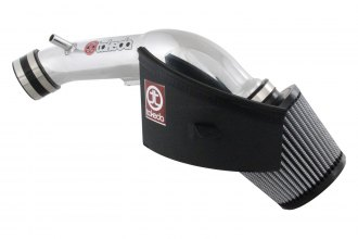 Takeda® TR-1019P - Retain Polished Short Ram Air Intake System with Pro DRY S Air Filter