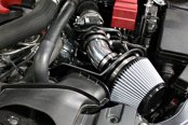 Takeda® - Retain Polished Short Ram Air Intake System - Installed