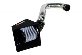 Takeda® - Retain Polished Short Ram Air Intake System with Pro DRY S Air Filter