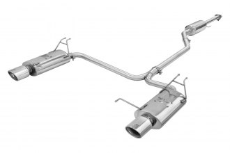 Takeda® - Stainless Steel Cat-Back Exhaust System
