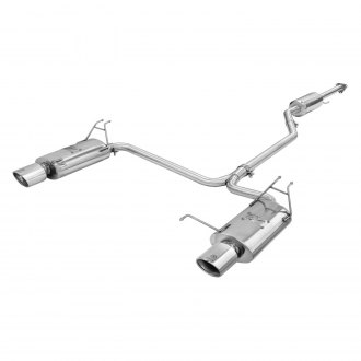 Takeda® - Cat-Back Exhaust System with Polished Tips