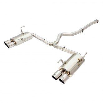 Takeda® - Stainless Steel Cat-Back Exhaust System with Polished Tip