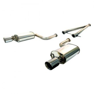 Tanabe® - Medalion Touring™ Stainless Steel Cat-Back Exhaust System with Split Rear Exit