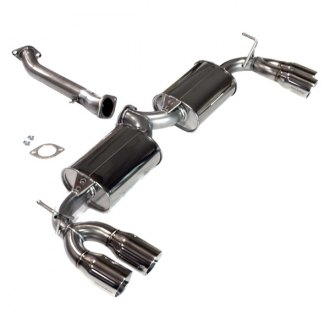 Tanabe® - Medalion Touring™ Stainless Steel Axle-Back Exhaust System with Quad Rear Exit