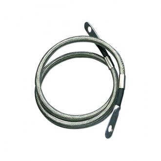 Taylor Cable® - Stainless Braided Diamondback Shielded Battery Cable