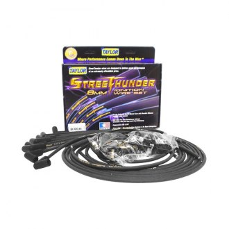 Taylor Cable® - 8mm Street Thunder Black Ignition Wire Set