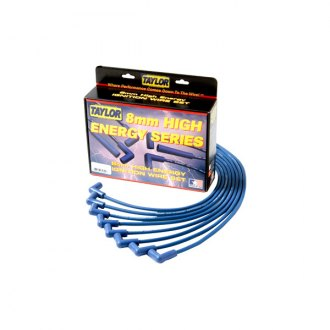 Taylor Cable® - 8mm High Energy Blue Wire Set