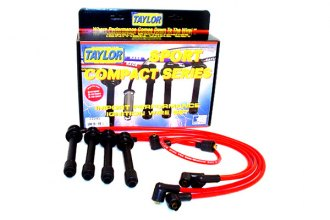 Taylor Cable® 77245 - 8mm Spiro Pro Ignition Wire Set (Red)