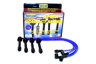 Taylor Cable® 77636 - 8mm Spiro Pro Ignition Wire Set (Blue)